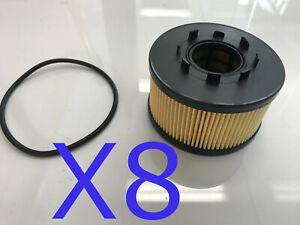 8X Oil Filter fits R2594P Ford Transit 2.4L DI VH  VJ Turbo Diesel 2000-2006