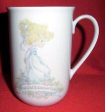Enesco Precious Moments Ceramic Mug Granddaughter 1990 Samuel J. Butcher