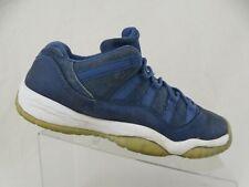 NIKE Jordan 11 XI Retro Low Blue Moon Sz 9y Baketball Shoes
