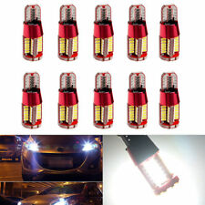 10x T10 White Light CANBUS ERROR FREE 501 194 W5W 3014 57SMD Car LED Light Bulbs