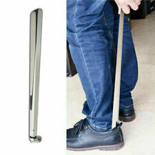 Long Handle Metal Shoe Horn Stainless Steel Silver Remover Shoehorn Hot Sale Wzt