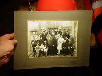 Ancienne Photographie de Mariage : Ch Guyot Le Creusot