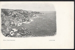 Channel Islands Postcard - Moye Point, Guernsey   S813