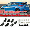 Spoiler Labbro Ala alzata Raiser Kit Per Ford Focus RS / ST Hatchback 4Dr  !