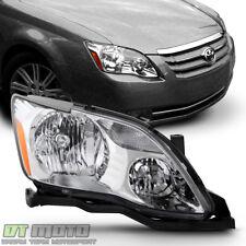 For Halogen Model 2005 2006 2007 Toyota Avalon Headlight Headlamp Penger Side