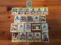 Lot of 22 Trading Cards - 1971 - 74, 1977 Topps FOOTBALL Minnesota Vikings (NFC)