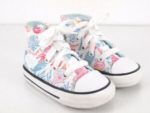 Converse Chuck Taylor Shoes Toddler Little Kid Size 5 Underwater Party Mermaid