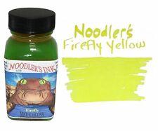 Noodler's Fountain Pen Ink - 3oz Bottle - 19170 - Firefly Yellow Highlighter ink