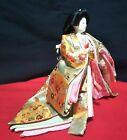 "Vintage Japanese Hina doll in Kimono Geisha Figure Princess doll 7.5"" 20cm A"