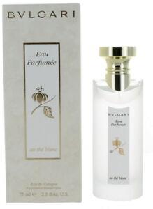 Eau Parfumee Au the Blanc by Bvlgari Unisex EDC Cologne Spray 2.5oz New In Box