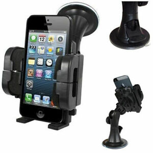 360° Car Mount Mobile Phone Holder Mount Cradle Stand Universal Rotating iPhone
