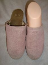 UGG UK 2 slip-on Purple Leather clogs shoes