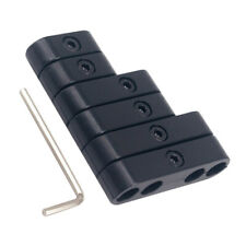 7mm 8mm Spark Plug Wire Separators Looms Black Mopar Ford Chevy Mustang 9723B