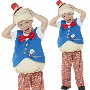Toddler Humpty Dumpty Costume Boy Nursery Rhyme Child World Book Day Fancy Dress