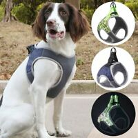 Reflective Dog Harness Puppy Pet Dogs Mesh Vest Adjustable Small Medium Large