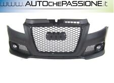 Paraurti anteriore Audi A3 3/5 porte completo ABS S3-Look griglia RS3 restyling