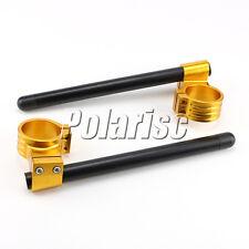 37MM CNC High Lift Universal Adjustable Clip Ons On Handle Bar Handlebar HBG