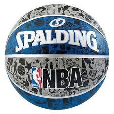Équipements de basketball ballons bleus Spalding