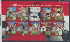Austria 2460-2469 Sheetlet fine used / cancelled 2004 Football (8584427