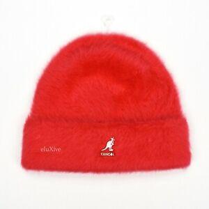 NWT Supreme Kangol Red Box Logo Furgora Fur Beanie Hat Men's FW20 DS AUTHENTIC