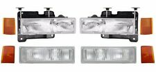 1988 1989 1990 1991 1992 1993 CHEVY C1500 HEADLIGHT  + PARK + SIDE LAMP