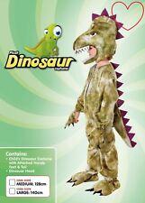 Kids Animal World Book Day Week Dinosaur Costume Prehistoric Fancy Dress