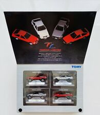 Tomica Limited - Tomy - Toyota ae86 Set of 4 Corolla Levin / Sprinter Trueno