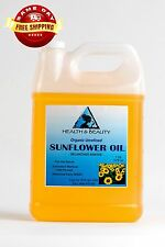 SUNFLOWER OIL UNREFINED ORGANIC CARRIER COLD PRESSED VIRGIN RAW PURE 7 LB