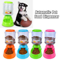 3.8L Automatic Pet Food Container Dispenser Dog Cat Feeder Healthy owl Dish  G