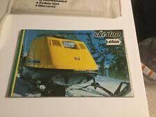 New Listing1972 Ski-Doo Elan Snowmobile Owners Manual Rare Original Vtg