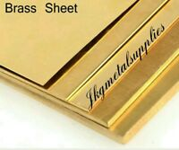 3mm brass sheet model making brass - Various sizes
