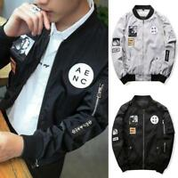 Fashion Men Jackets Casual Windbreaker Bomber Jacket Tactical Clothing Coat Warm