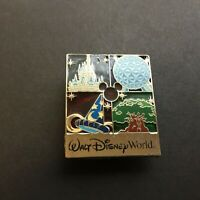WDW - Walt Disney World Park Icons Stained Glass Logo Disney Pin 91928