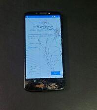 Motorola Moto G6 Play - 16GB - Black (Boost Mobile) Google Locked Cracked BadIME
