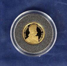 """2005 Alderney 1/25oz oro moneda de 1 £ """"Nelson"""" en cápsula con certificado de autenticidad (E7/10)"""