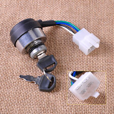 4 Wire On/Off Ignition Key Switch Fits Chinese Gasoline Generator 2KW 3KW 168F