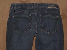 DKNY Size 2 X 32 Mercer Slim Boot Dark Blue Stretch Denim Womens Jeans