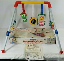 Vintage Muppet Babies Baby Play Gym - Illco Baby Toy w/ Box & Instructions-Rare!