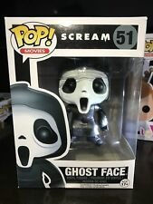 "Funko Pop Scream Ghost Face #51 Rare Vaulted Vinyl Figure ""Mint""。With Protector"