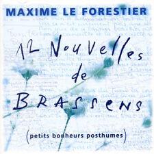 Maxime le Forestier - 12 Nouvelles de Brassens [New CD]