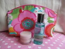 Clinique Moisture Surge, Clarifying Moisture Lotion & Floral Cosmetic Bag New