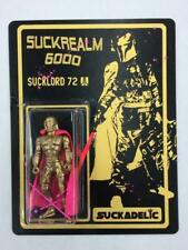 SUCKADELIC SUCKREALM 6000 SPECIAL 10TH ANNIVERSARY GOLD SUCKLORD 72 FIGURE