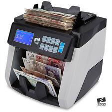 Billete de Banco Moneda contador contar Detector De Dinero Rápido Billete libra Cajero