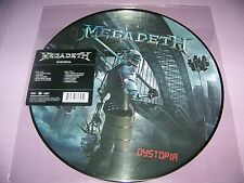 MEGADETH DYSTOPIA PICTURE DISC VINYL LP BRAND NEW   $21.99