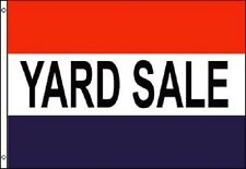 YARD SALE Flag Rummage Thrift Banner Advertising Pennant 3x5 Indoor Outdoor New