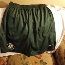 OAKLAND A'S SHORTS - 2XL - NIKE
