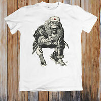 NEVER ENOUGH MONKEYS WITH GUNS FUNNY UNISEX T-SHIRT