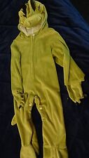 DRAGON COSTUME Sz 1 - 2 Toddler Young Child Really CUTE  Green Zips & Snap legs