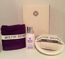 MOLTON BROWN YLANG YLANG, MILK SOAP & SOAP DISH & FACE CLOTH GIFTSET  (BB7.2M5)