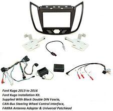 Auto 1-din instalación diafragma//marco adaptador para Ford Transit 6 /& Galaxy 2